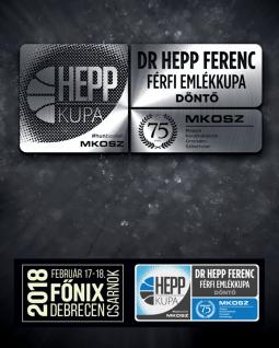 Dr Hepp Ferenc Emlékkupa Döntő 2018